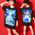 ankoROCK本当は怖い童話『シンデレラ』Tシャツ -メガビッグ- SALE