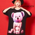 ankoROCK化学反応!めちゃキモテディベアTシャツ -メガビッグ- SALE