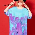 ankoROCKロマンティックシティTシャツ -メガビッグ- SALE