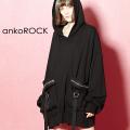 ankoROCK スパンキーカーゴプルオーバーパーカー -オーバーサイズ-