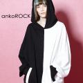 ankoROCK PANDAプルオーバーパーカー -オーバーサイズ-