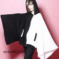 ankoROCK PANDAキモノアームパーカー -ショート&ビッグ-