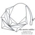 an meets zakka立体三角ネックレス