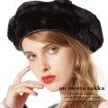 an meets zakkaショートファーベレー帽