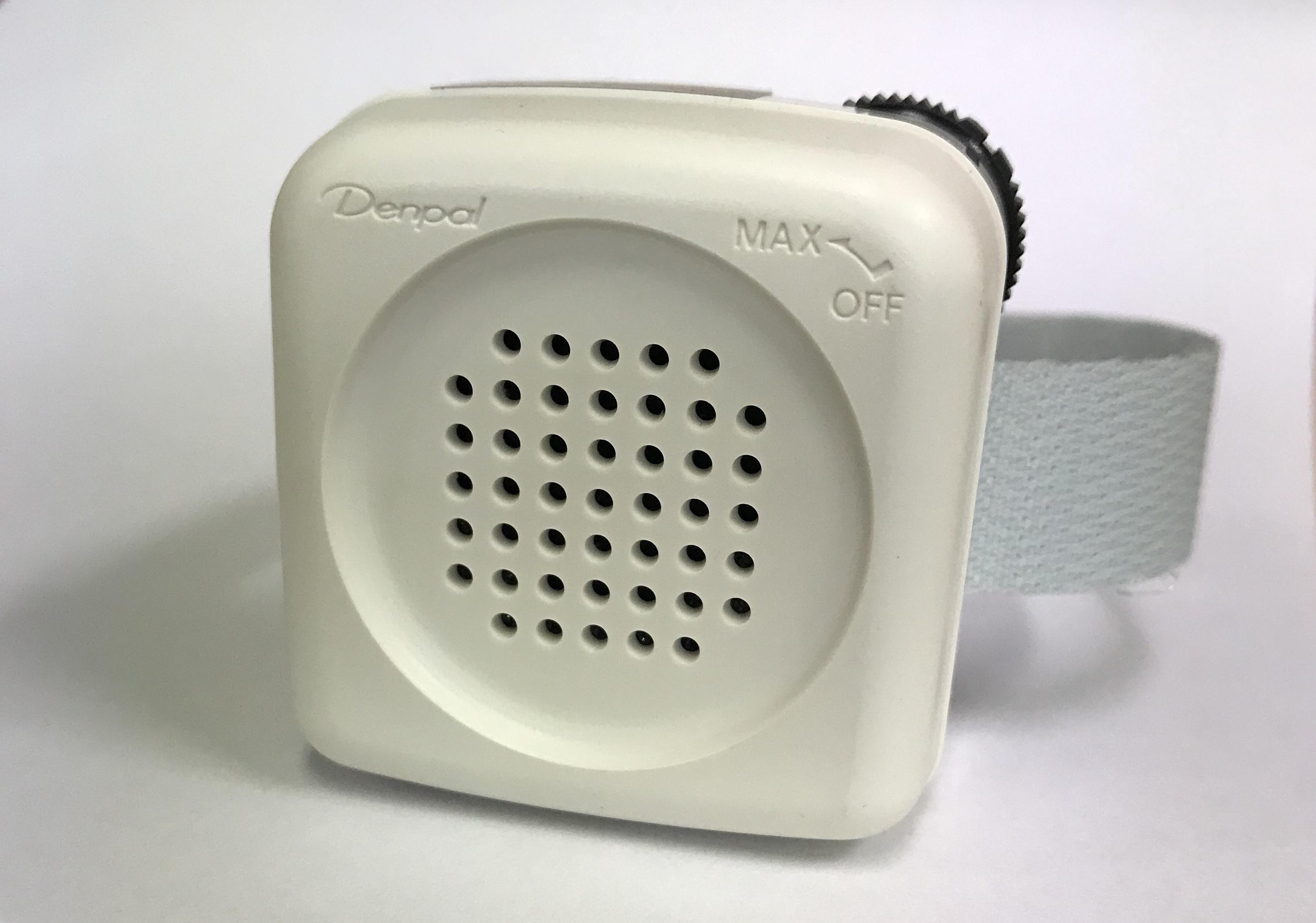 かんたん装着!電話拡声器 デンパル TA-800