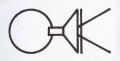 掛花金具 (銅製) 丸1.5