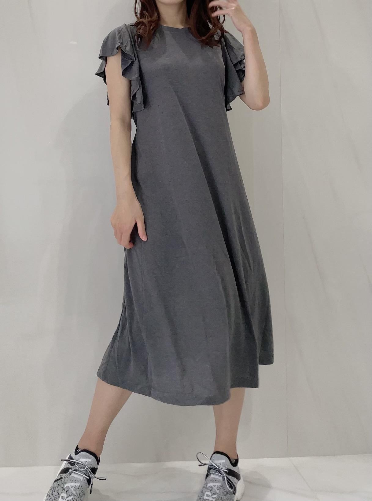 【selva secreta】Tshirt one-piece(gray)