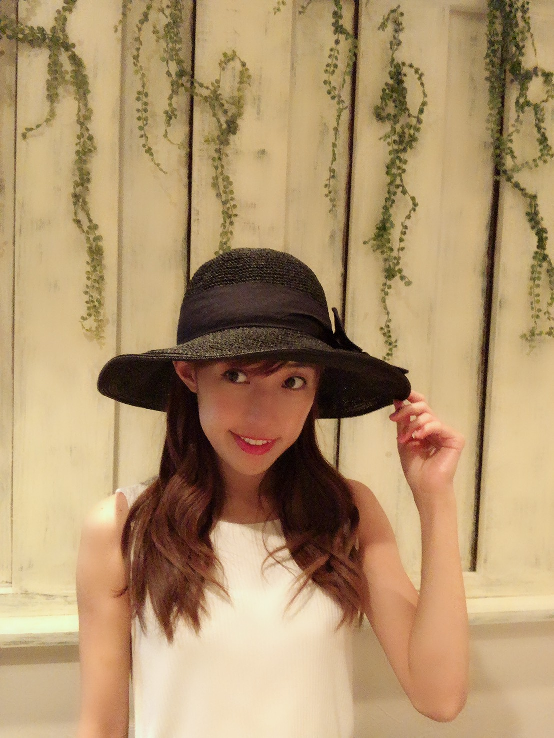 【selva secreta】RIBBON CLASSIC HAT(black)