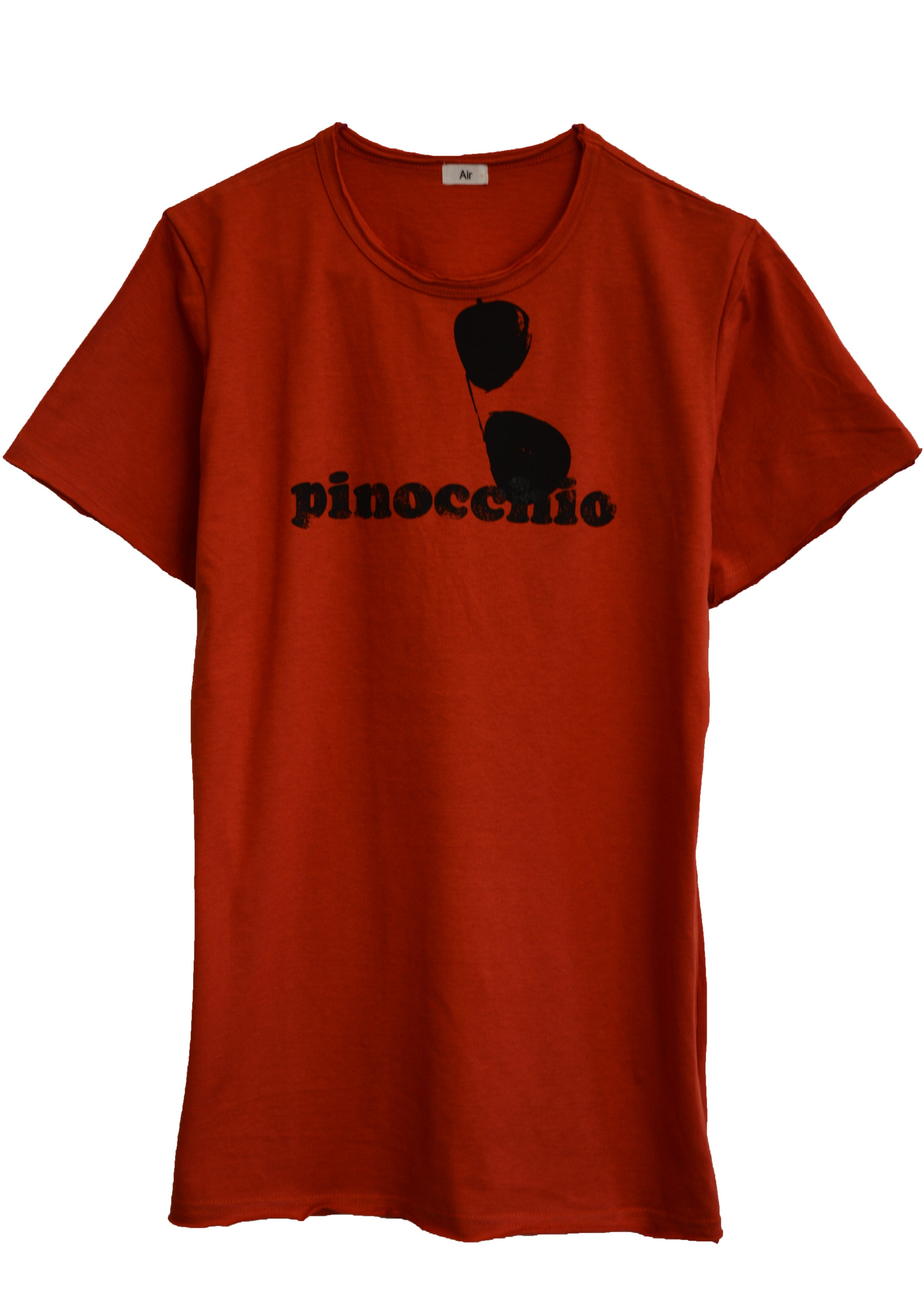 【AIR】PINOCCHIO T-SHIRT (RED-ORANGE)