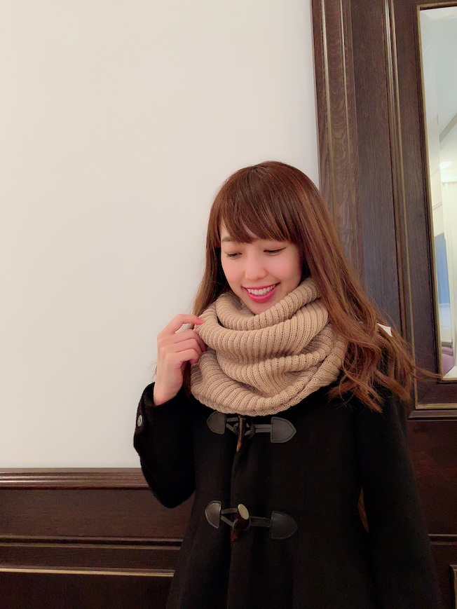 【selva secreta】ALPACA SNOOD(beige)