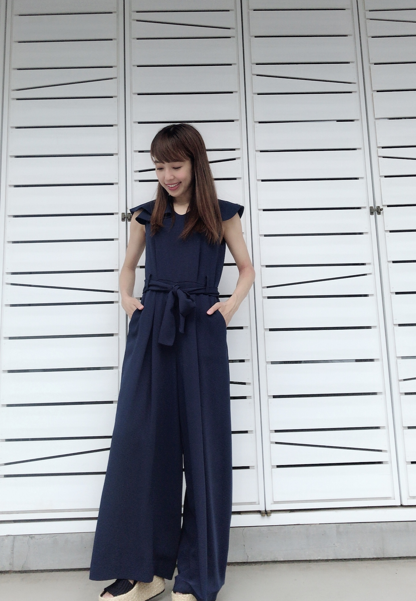 【selva secreta】 WIDE ALL IN ONE (navy)