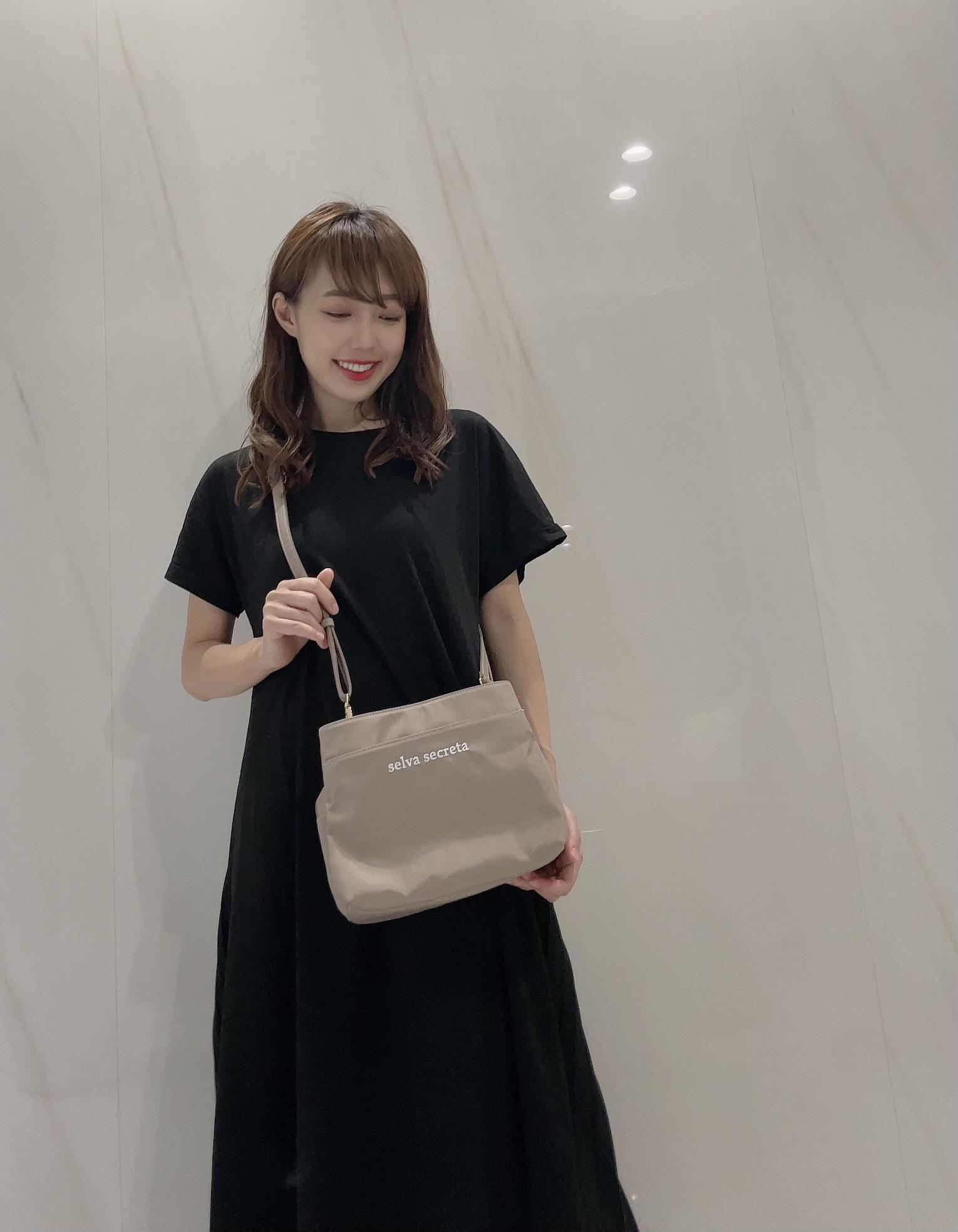 【selva secreta】Shoulder card BAG(greige)