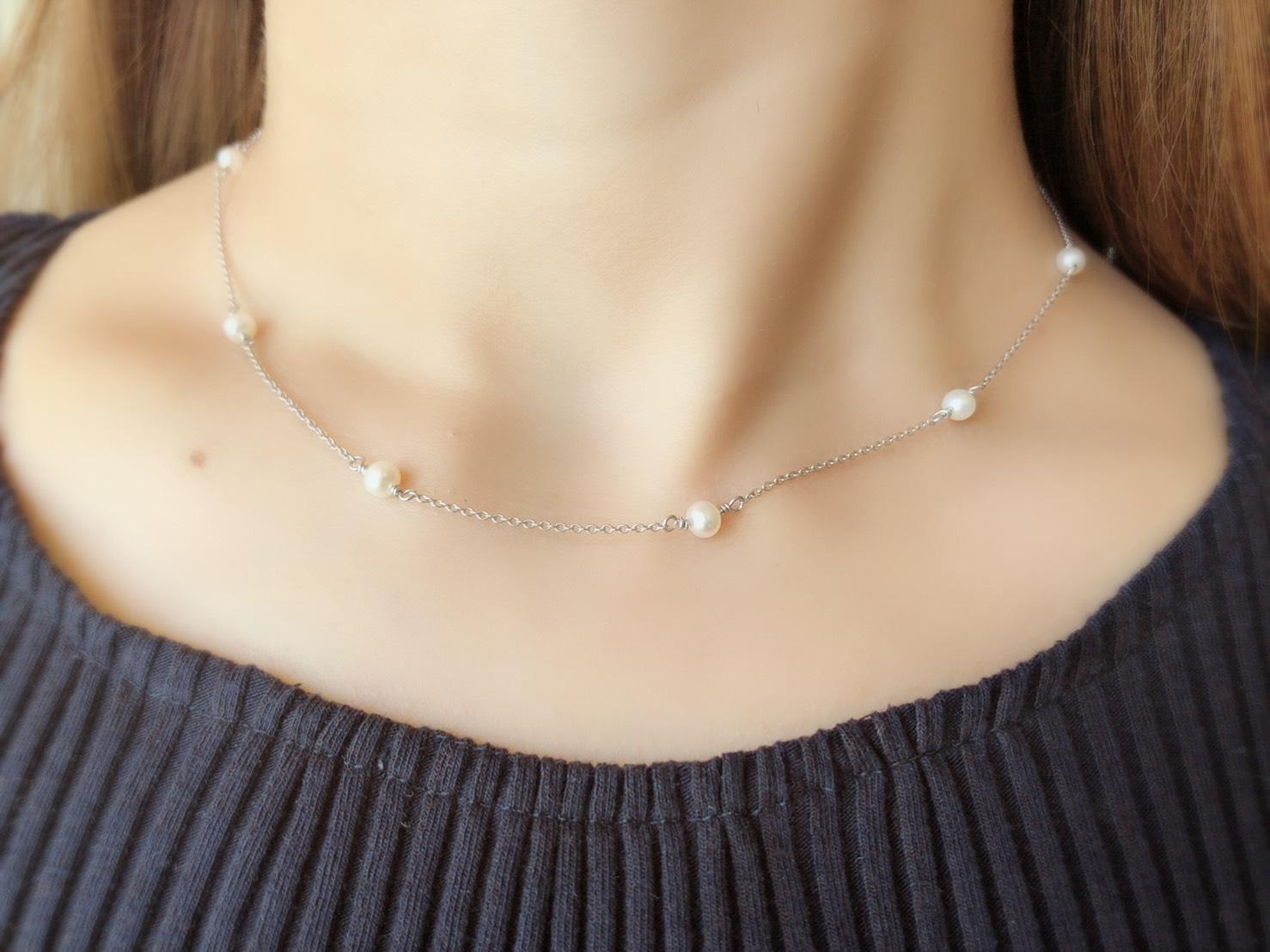 【selva secreta】Pearl Necklace