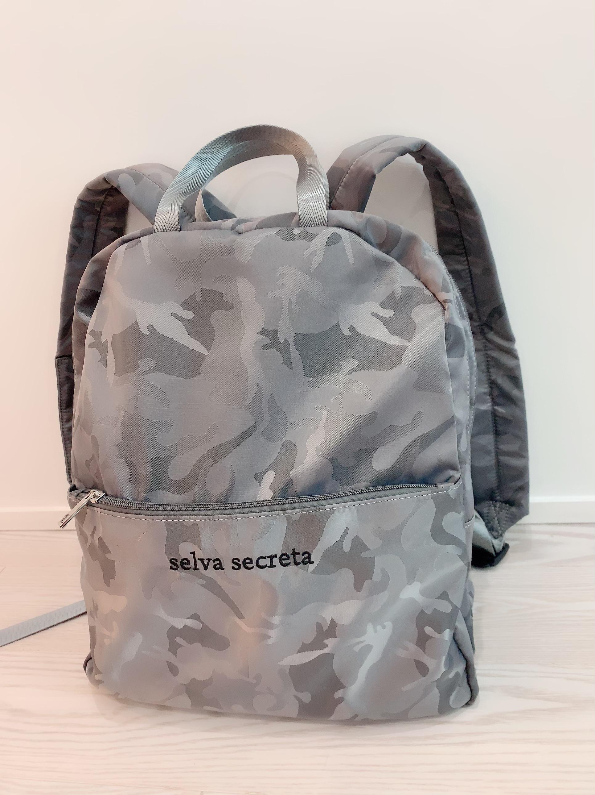 【selva secreta】RUCKSACK(camouflage-sliver)