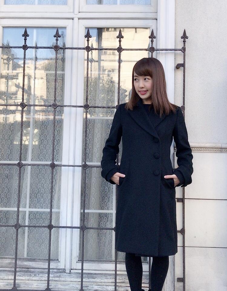 【selva secreta】WOOL LONG COAT(black)