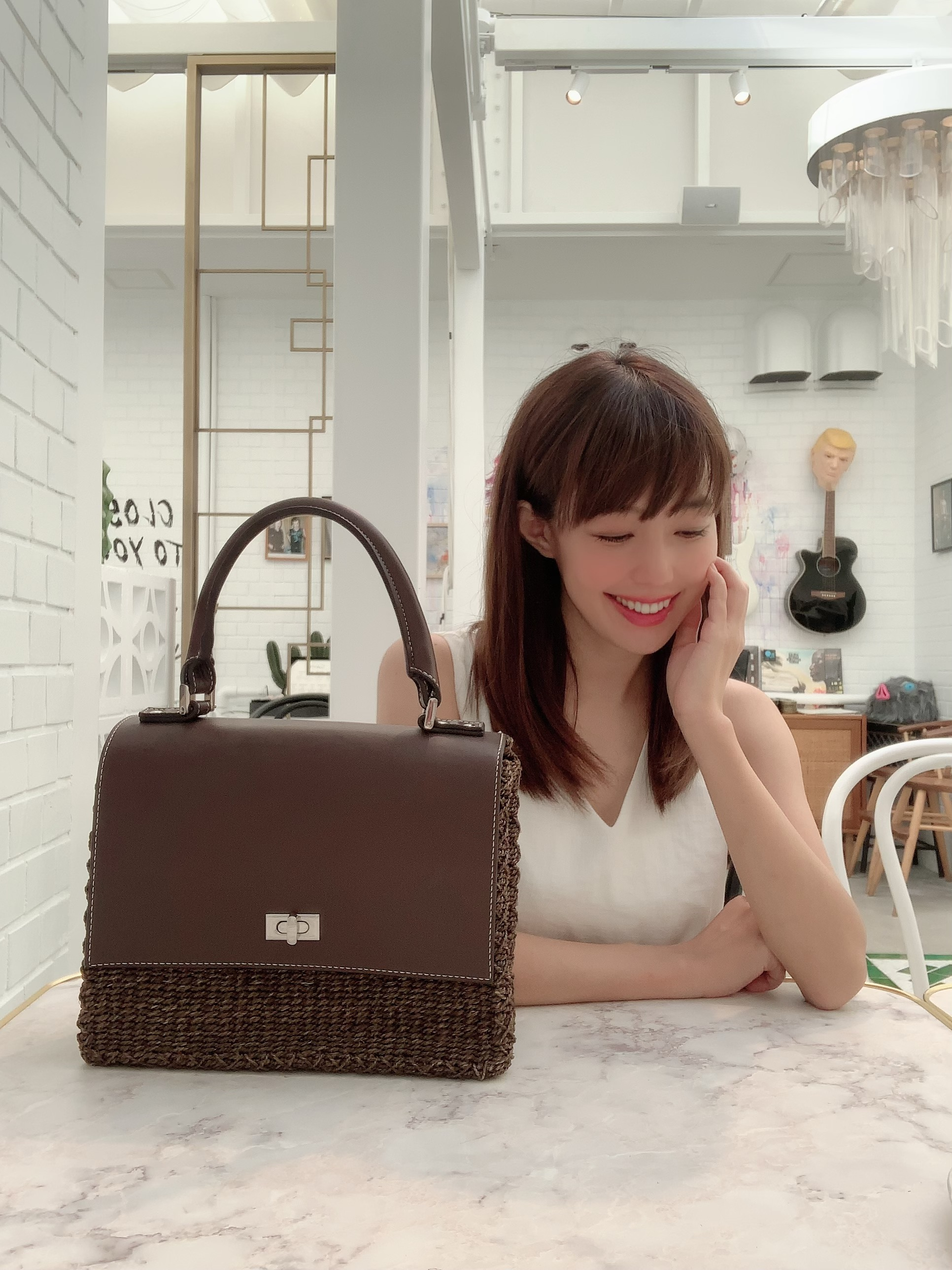 【selva secreta】 basket bag(brown)