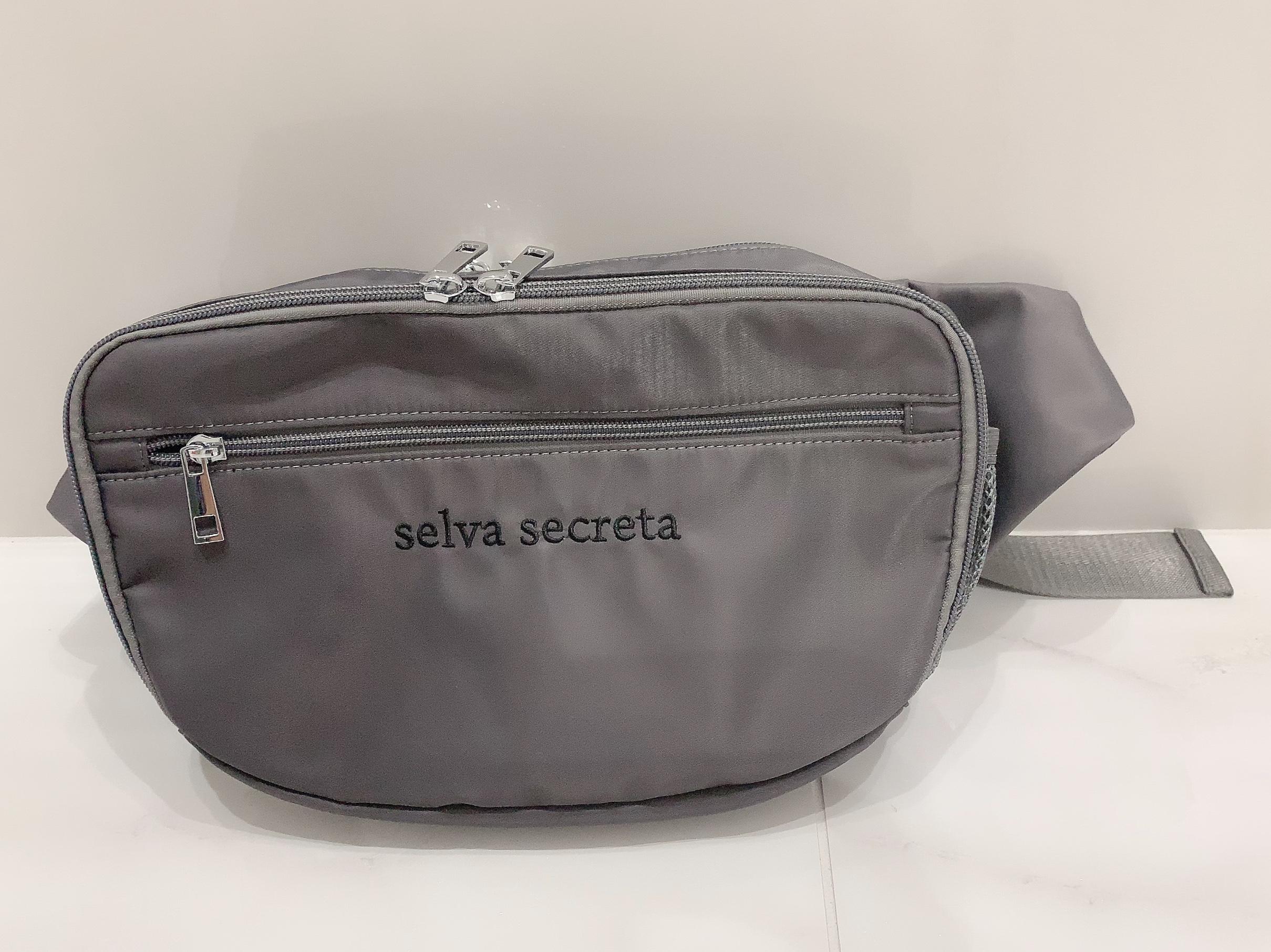 【selva secreta】WAIST POUCH(gray)