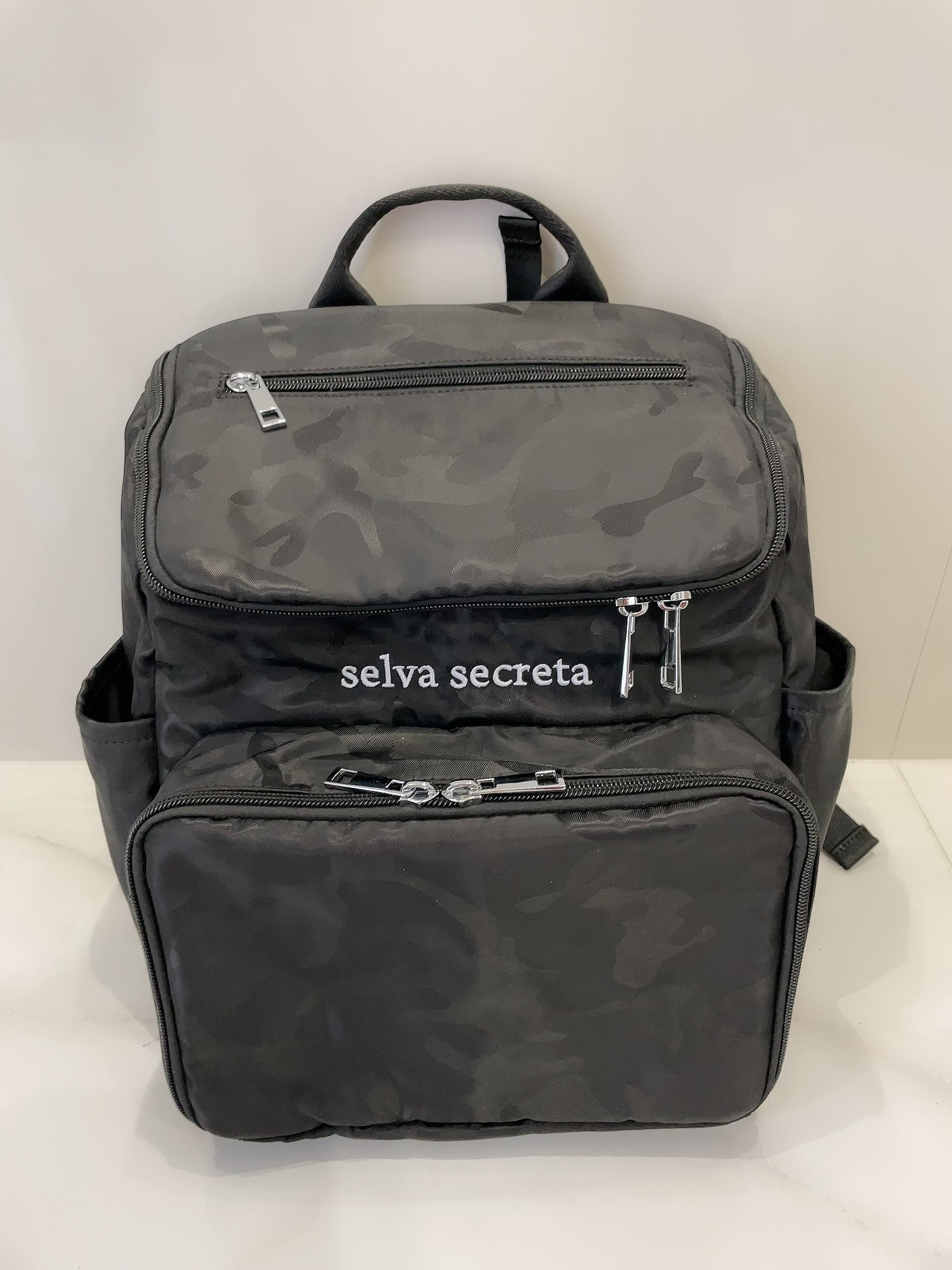 【selva secreta】bucket RUCKSACK mini(camouflage-black)
