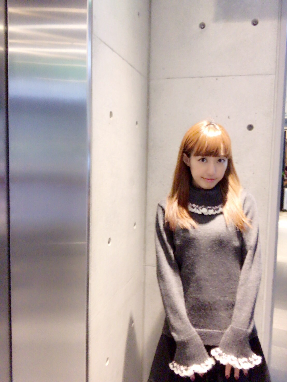 【selva secreta】ALPACA TURTLE KNIT(gray)