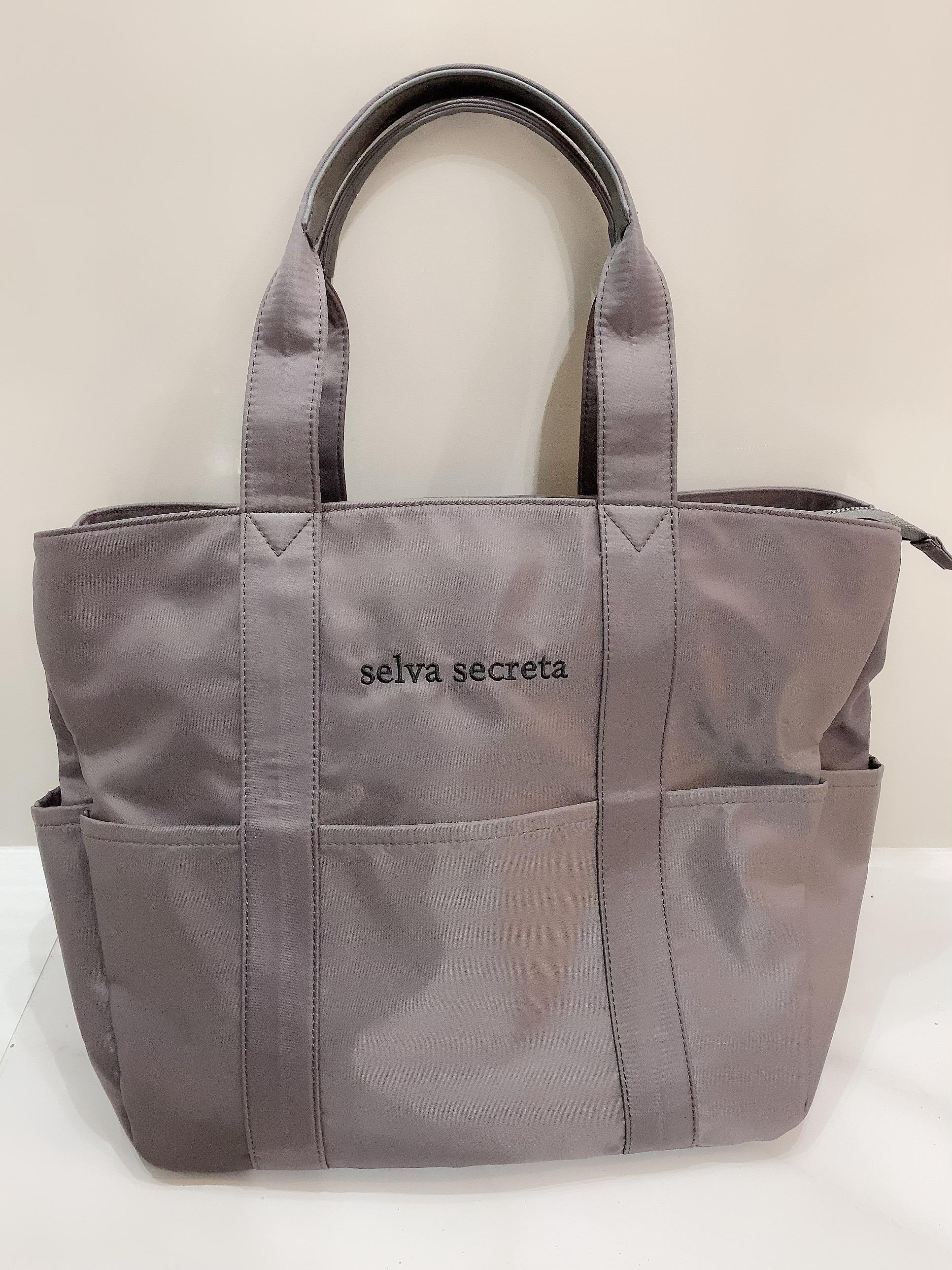 【selva secreta】useful TOTE BAG(gray)