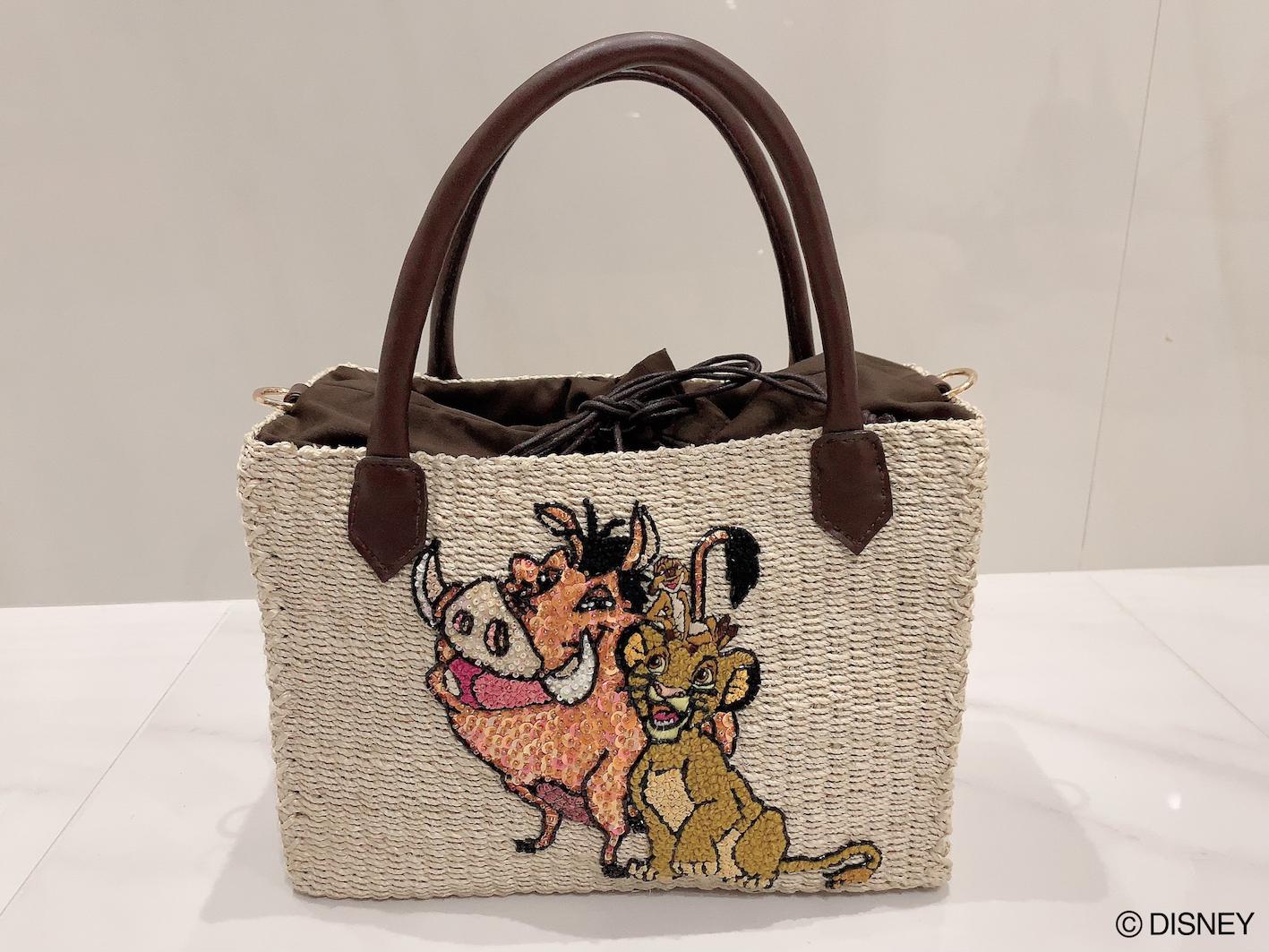 【selva secreta】Disney THE LION KING basket bag
