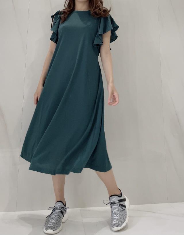 【selva secreta】Tshirt one-piece(green)
