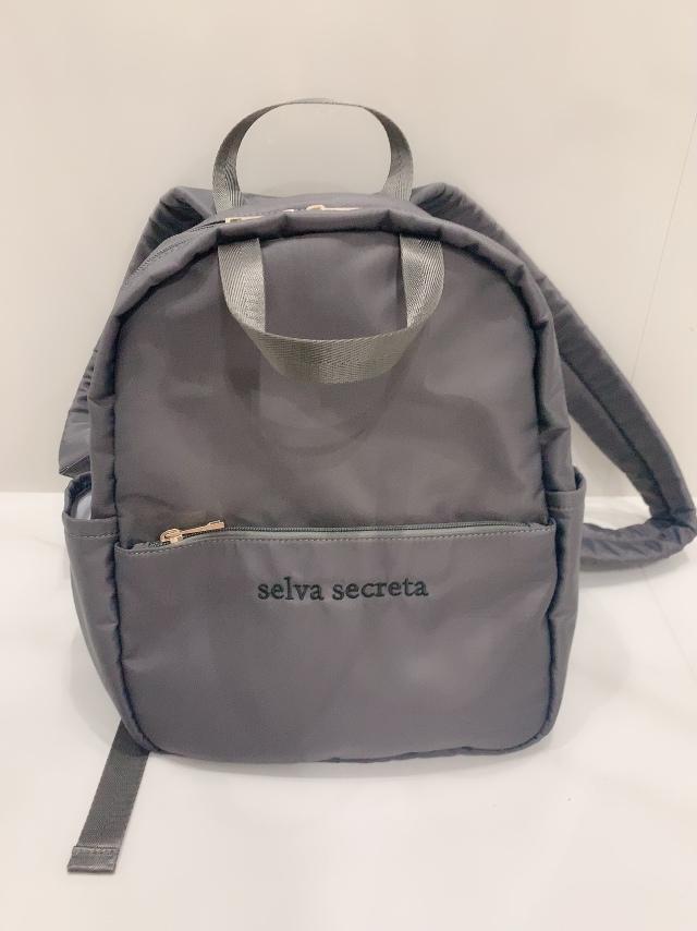【selva secreta】RUCKSACK mini(gray)