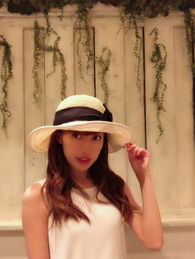 【selva secreta】RIBBON CLASSIC HAT(white-beige)