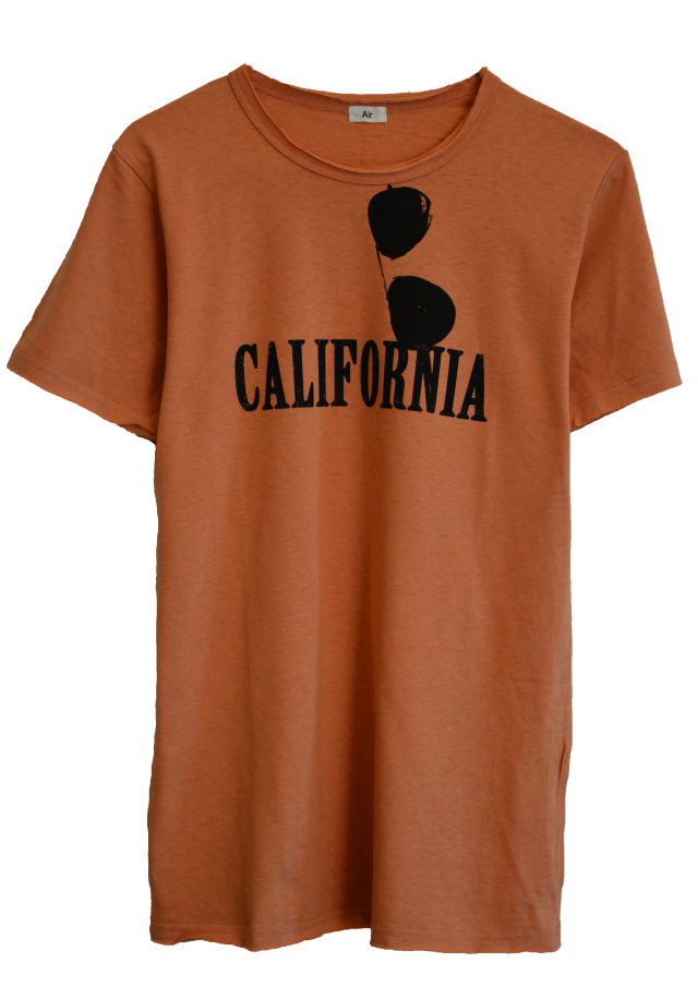 【AIR】CALIFORNIA T-SHIRT (ORANGE)