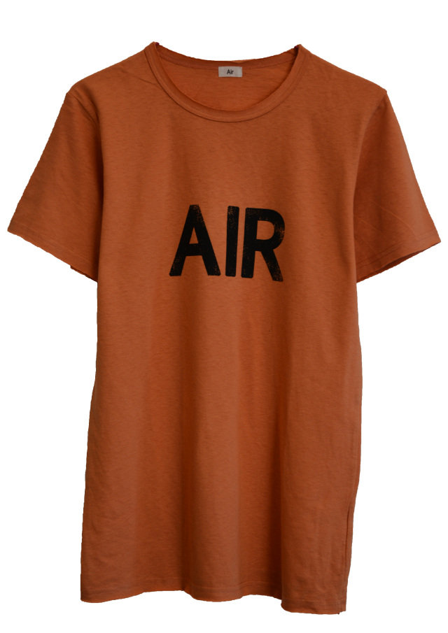 【AIR】AIR T-SHIRT (ORANGE)