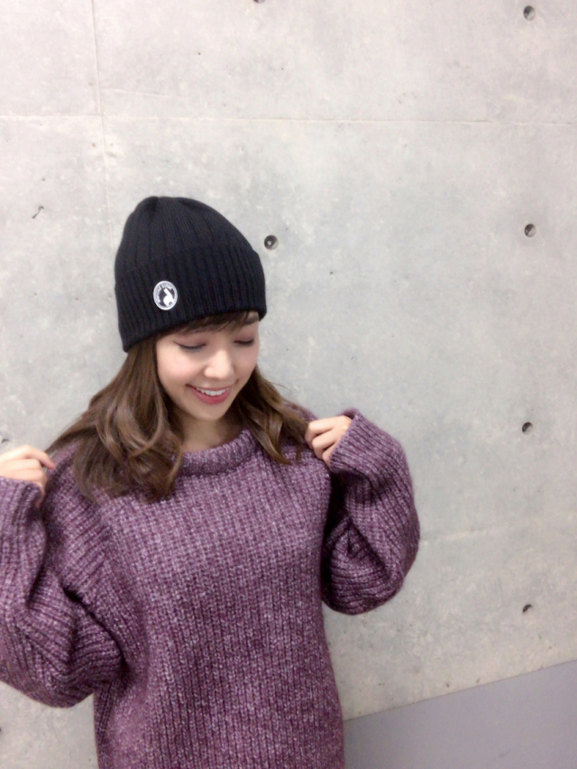 【selva secreta】ALPACA  KNIT CAP(black)