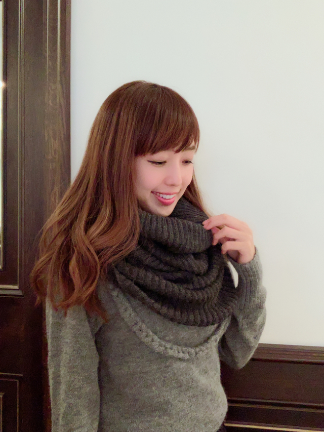 【selva secreta】ALPACA SNOOD(gray)
