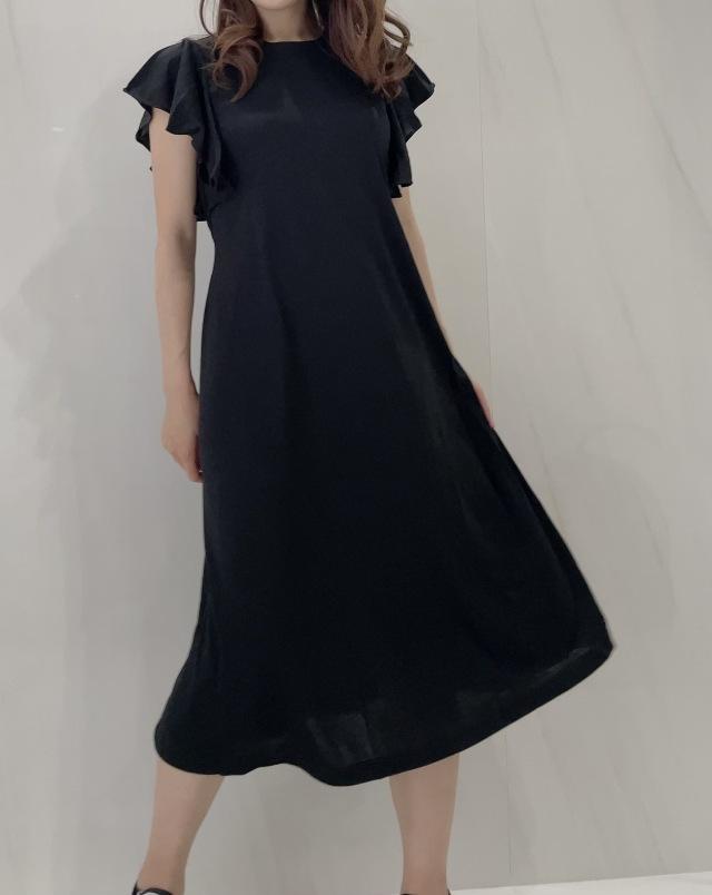 【selva secreta】Tshirt one-piece(black)