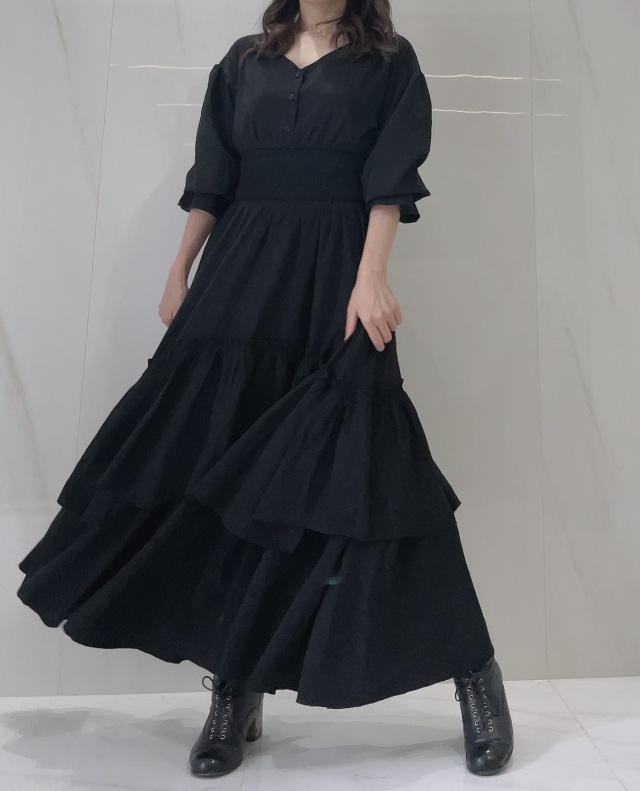 【selva secreta】Plenty DRESS(black)