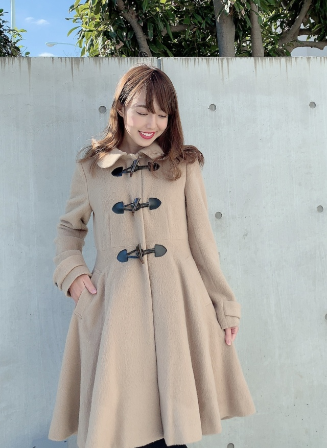 【selva secreta】DUFFLE FLARED  COAT(beige)