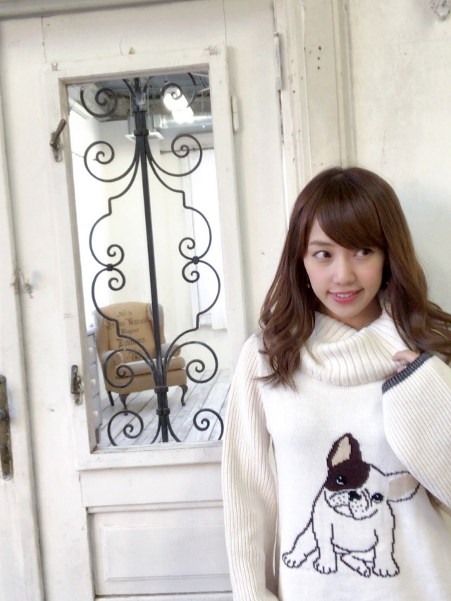 【selva secreta】FRENCH BULLDOG KNIT