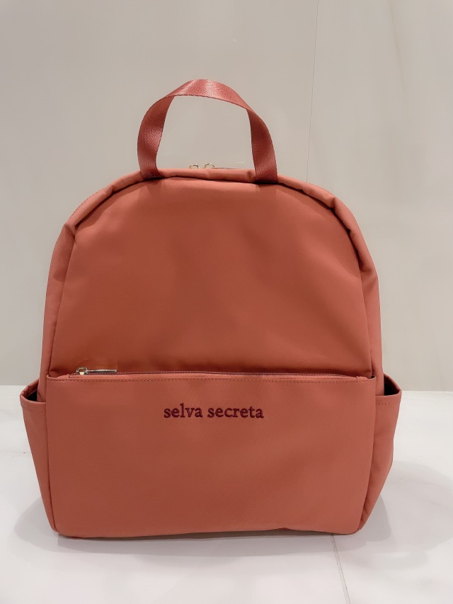 【selva secreta】RUCKSACK side pocket(pink-brown)