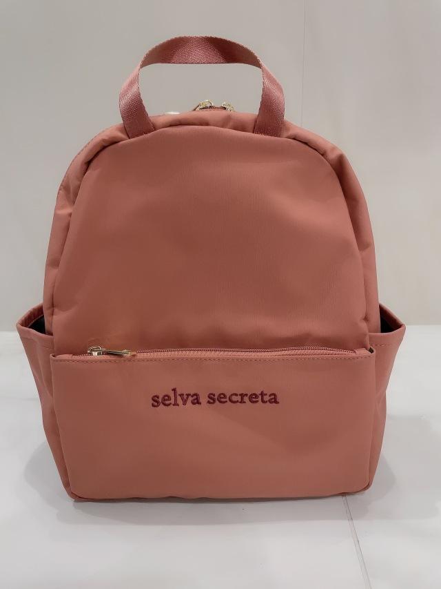 【selva secreta】RUCKSACK mini(pink-brown)