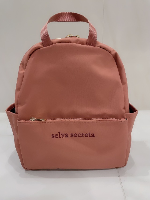 【selva secreta】RUCKSACK mini(pink-brown)