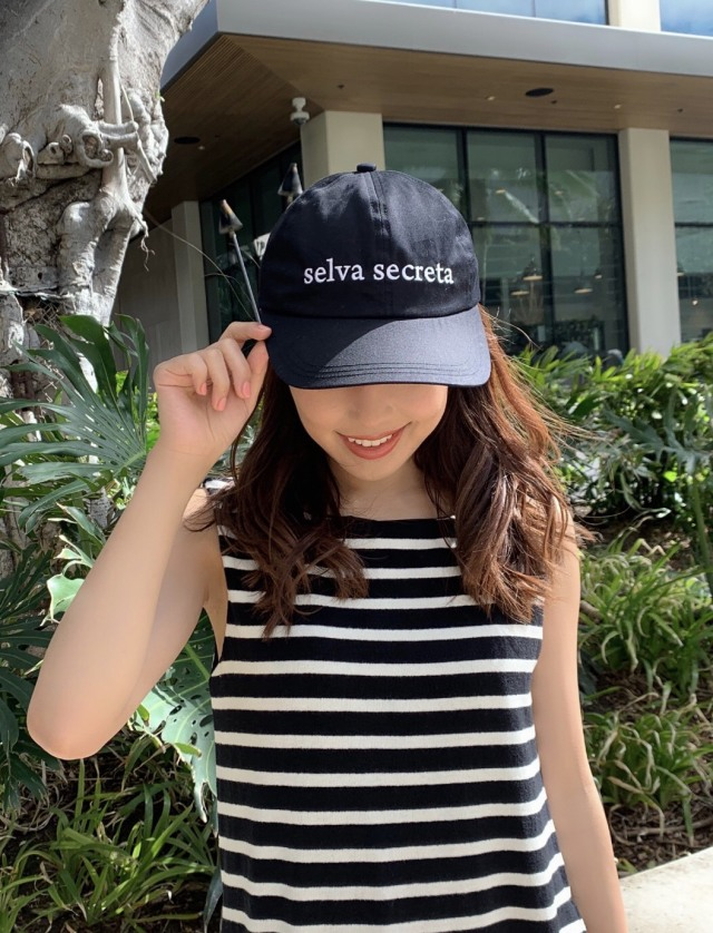 【selva secreta】LOGO CAP(black)