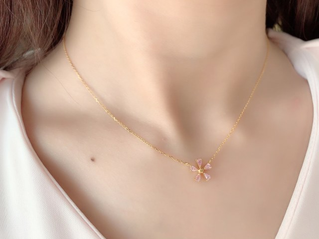 【selva secreta】Sakura Necklace