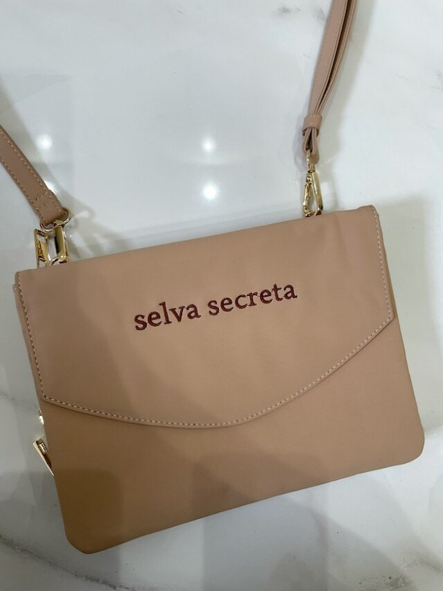 【selva secreta】3-layer Wallet BAG(beige)