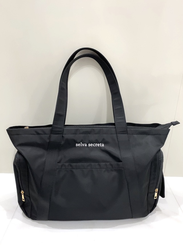 【selva secreta】MOM TOTE BAG(black)