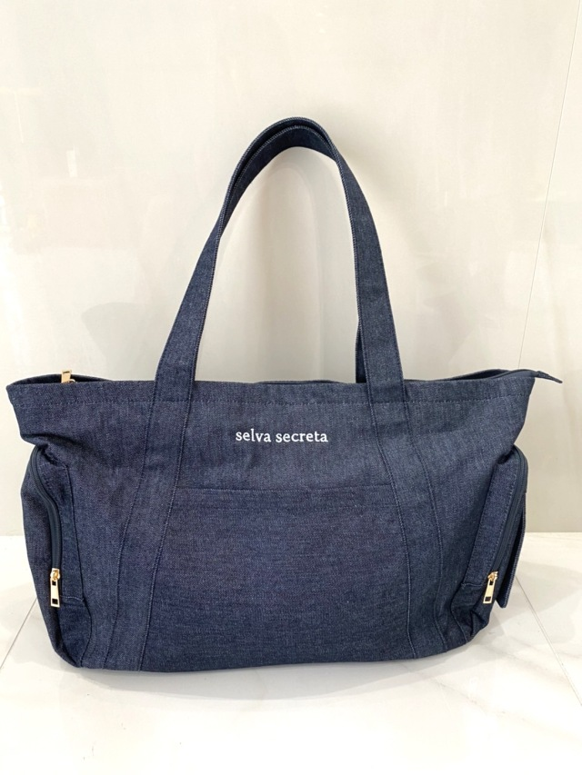 【selva secreta】MOM TOTE BAG(denim)