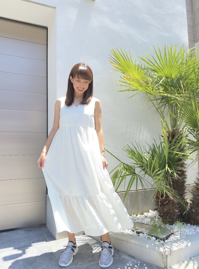 【selva secreta】Fluffy DRESS(white)