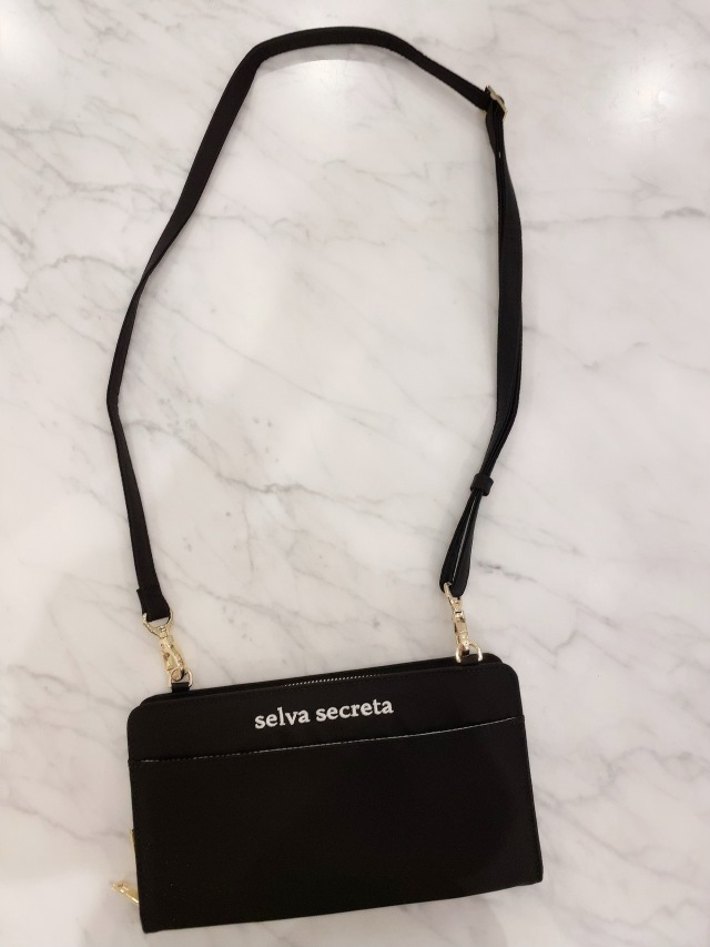 【selva secreta】Wallet BAG(black×gold)