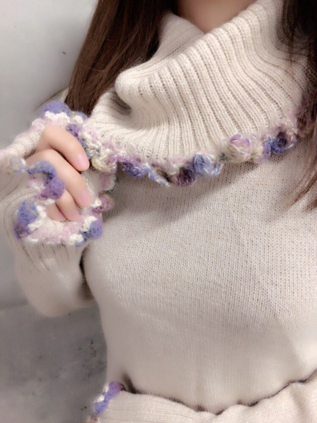 【selva secreta】ALPACA TURTLE KNIT(light-beige)