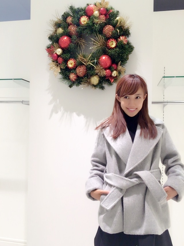 【selva secreta】ALPACA WOOL SHORT COAT(gray)