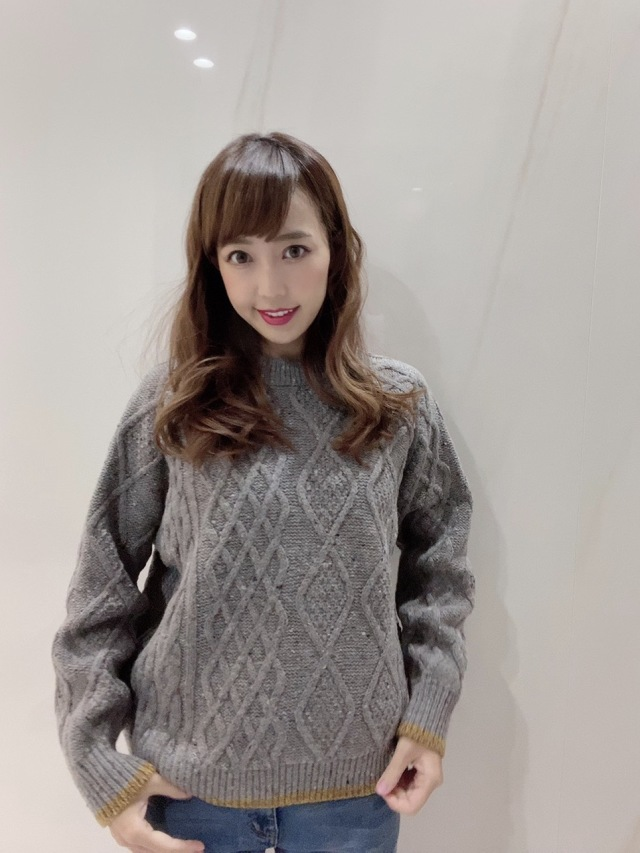 【selva secreta】WOOL KNIT(gray)