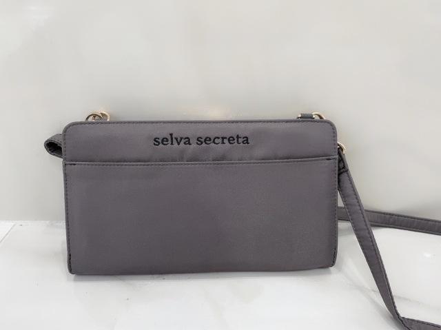 【selva secreta】Wallet BAG(gray×gold)
